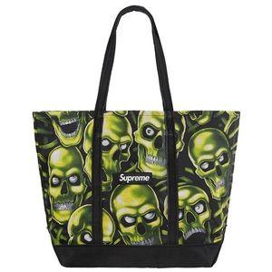 Supreme Skull Pile Denim Tote Bag (SS18)